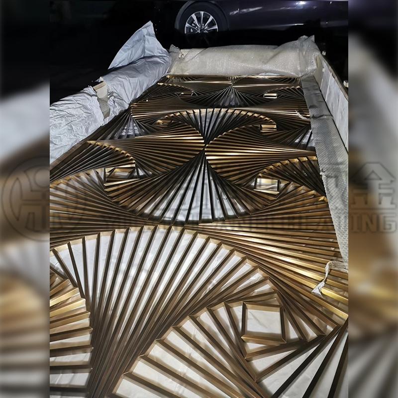High end metal screen