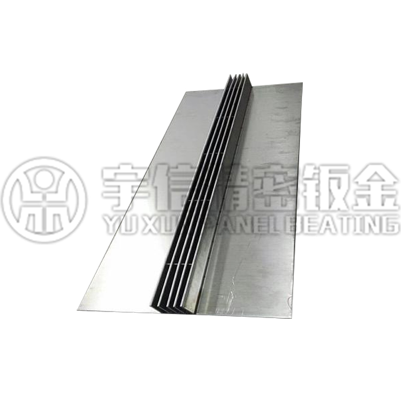 Slit type stainless steel drainage ditch